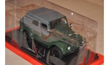 Hachette. ГАЗ-69А , Легендарные Советские Автомобили 59, масштабная модель, scale24