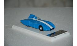 Dip Models. ЗИЛ 112 Срг шасси #1 (июнь 1962), голубой, масштабная модель, 1:43, 1/43