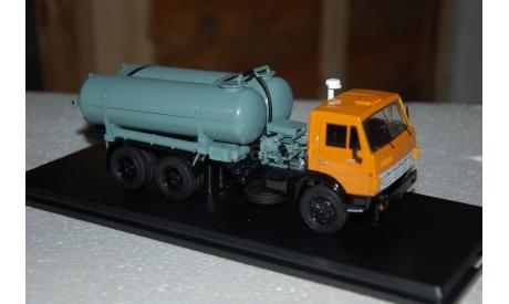 SSM. Вакуумная машина КО-505 на шасси КАМАЗ-53213, масштабная модель, 1:43, 1/43, Start Scale Models (SSM)