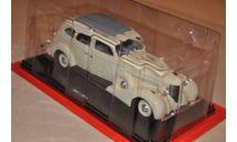 Hachette. Зис-101А, Легендарные Советские Автомобили 23, масштабная модель, scale24