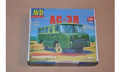 Авто в деталях. Кит Специальный армейский автобус АС-38