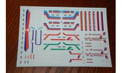 Декаль. Надписи и эмблемы на МАЗ. Размер А5, запчасти для масштабных моделей, 1:43, 1/43, maksiprof