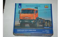 Авто в деталях. Кит КАМАЗ-44108 6x6. AVD