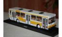 ClassicBus. ЛИАЗ-5256 бело-желтый, масштабная модель, scale43