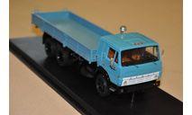 SSM. КАМАЗ-53212 бортовой,голубой, масштабная модель, scale43, Start Scale Models (SSM)