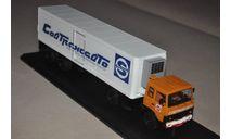 SSM. МАЗ-5432 с пп ОДАЗ-9786 Совтрансавто, масштабная модель, 1:43, 1/43, Start Scale Models (SSM)