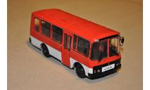 ПАЗ-3205, Наши автобусы №2, масштабная модель, 1:43, 1/43