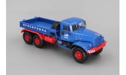Наш Автопром. КРАЗ 255В1 Балластный тягач, синий / красный
