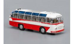 ClassicBus. ЛАЗ 697Е Турист (1961-1963), бело-красный, масштабная модель, 1:43, 1/43