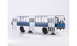 СовА. Икарус-260 бело-синий, масштабная модель, 1:43, 1/43, Советский Автобус, Ikarus