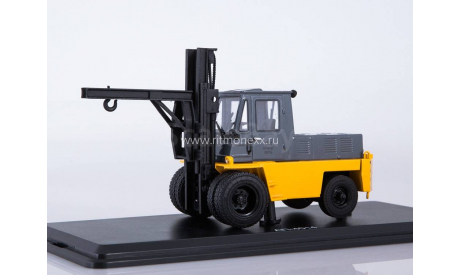 ModelPro. Львовский автопогрузчик АП-4014 (жёлто-серый), масштабная модель, 1:43, 1/43