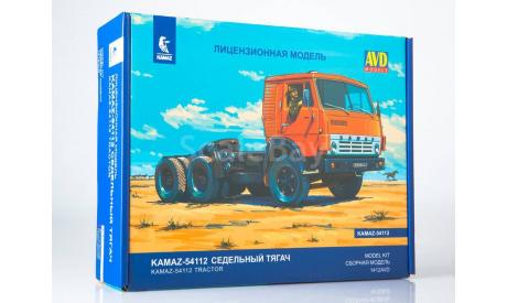 Авто в деталях. КАМАЗ-54112 седельный тягач . AVD, сборная модель автомобиля, scale43, AVD Models