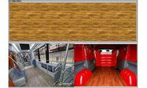 Декаль. Покрытие пола в автобус. DKM0674, фототравление, декали, краски, материалы, maksiprof, ГАЗ, scale43