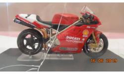 Ducati 996 Superbike 1999 Carl Fogarty - 1/24 Altaya, журнальная серия масштабных моделей, scale24