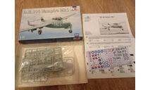 Vampire D.H.100, сборные модели авиации, scale72