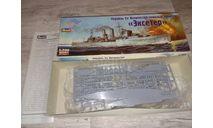Эксетер, сборные модели кораблей, флота, scale0