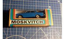 Москвич 408, номерной А1, Без Made in USSR, масштабная модель, Агат/Моссар/Тантал, scale43