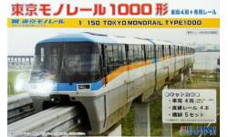 Монорельс Токио (масштаб 1/150 N), сборная модель (другое), Fujimi