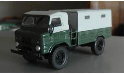 ГАЗ 62, масштабная модель, 1:43, 1/43, Автолегенды СССР журнал от DeAgostini