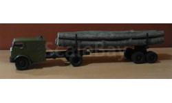 НАМИ-012 лесовоз с грузом, масштабная модель, Конверсии мастеров-одиночек, 1:43, 1/43