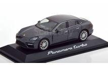 С 1 Рубля  Porsche Panamera Turbo 2016, масштабная модель, Herpa, scale43