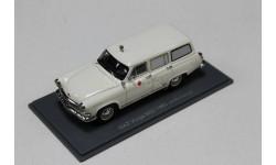 ГАЗ М-22Е 'Волга' санитарная (экспортный вариант), белая, 1960 1:43 NEO  возможен обмен