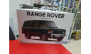 05796 Land Rover Range Rover Classic '92 1:24 Aoshima возможен обмен, масштабная модель, scale24