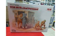 35694  Медицинский персонал США І МВ 1:35 ICM  Возможен обмен, миниатюры, фигуры, scale35