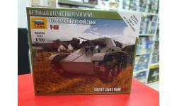 6258 Сов.легкий танк Т-60 1:100 Звезда  Возможен обмен