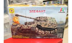 303516 Немецкое самоходное орудие Элефант 1:35 Моделист возможен обмен, сборные модели бронетехники, танков, бтт, КВ, 1/35