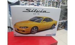 05679 Nissan Silvia S15 Spec.R '99 1:24 Aoshima возможен обмен, сборная модель автомобиля, scale24
