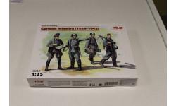 35639 Германская пехота (1939-1942 г.) 1:35 ICM