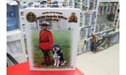 16008 Офицер Королевской Канадской Конной Полиции с собакой 1:16 ICM возможен обмен, миниатюры, фигуры, scale16
