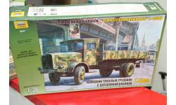3647 Немецкий грузовик с деревянной кабиной Мерседес 1:35 Звезда возможен обмен, сборные модели бронетехники, танков, бтт, Mercedes-Benz, scale35