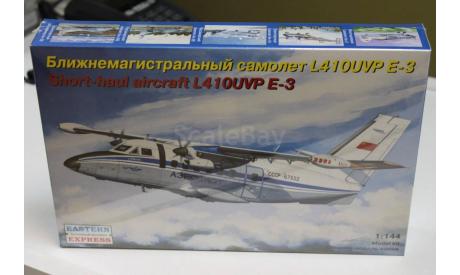 144100  Пассажирский самолет L-410UVP Аэрофлот 1:144 Восточный экспресс Возможен обмен, сборные модели авиации, scale144