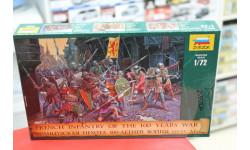 8053 Французская пехота  100-летней войны 1:72 Звездаi возможен обмен, миниатюры, фигуры, scale72