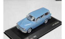 Volvo 220 Amazon, blue 1962 1:43 Whetebox  возможен обмен