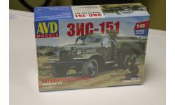 Автоцистерна ЗИС-151 1:43 Автомобиль в деталях