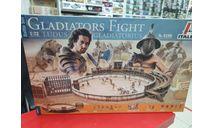 6196ИТ Набор GLADIATORS FIGHT - BATTLE SET 1:72 Italeri Возможен обмен, миниатюры, фигуры, scale0