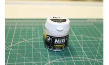 MIG P022 Пигмент Пепел белый, фототравление, декали, краски, материалы