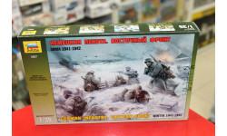3627  Немецкая пехота в зимней униформе 1:35 Звезда  возможен обмен, миниатюры, фигуры