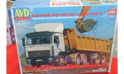 МАЗ-6422 с полуприцепом МАЗ-9506-20 1:43  Автомобиль в деталях возможен обмен