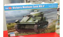 83880  танк Vickers Medium Tank Mk.II  1:35 HOBBYBOSS возможен обмен