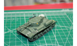 Русские танки №110 МКIII 'Валентайн' 1:72   возможен обмен, масштабные модели бронетехники, scale72
