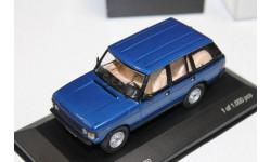 Land Rover Range Rover, metallic-blue 1970 1:43 Whetebox  возможен обмен