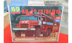 Пожарная цистерна АЦ-40(375)Ц1А 1:43  Автомобиль в деталях возможен обмен