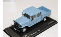 Toyota Land Cruiser Bandeirante Pick Up, blue, 1976 1:43 WhiteBox возможен обмен