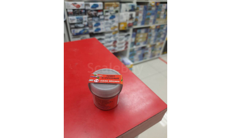 22-54 пигмент №14 Коричневый темный Пластмастер возможен обмен, фототравление, декали, краски, материалы, scale0