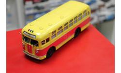 ЗИС-155 красно-жёлтый, со шторками 1:43 Автоисторрия возможен обмен, масштабная модель, Автоистория (АИСТ), scale43
