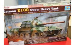 00384 Танк German E100 Super Heavy Tank 1:35 Trumpeter  возможен обмен, сборные модели бронетехники, танков, бтт, КВ, scale72
